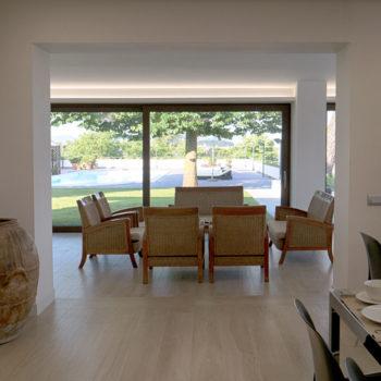 sala interna villa dei tigli bed & breakfast pietrelcina